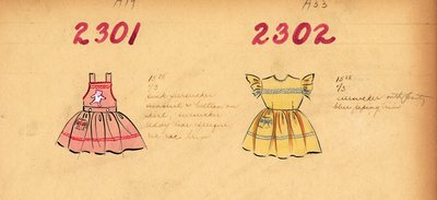 Girl's Sunsuit and Dress
