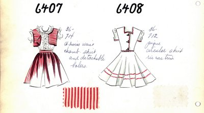 Girl's Skirt Set and Dress