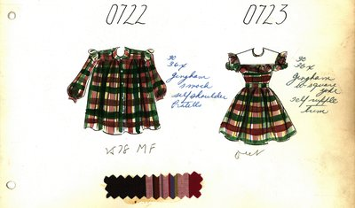 Girl's Smock and Dress
