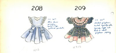 Girl's Pinafore and Dress