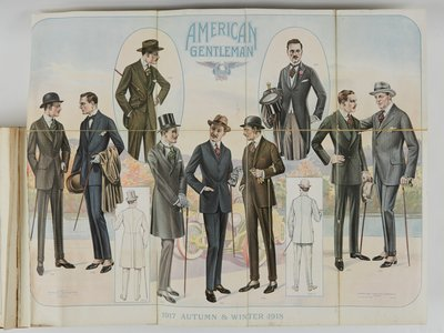 American Gentleman, 1917 Autumn & Winter 1918