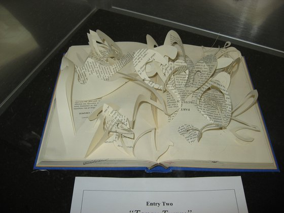 Love Your Library 2010: Book Art Entries
