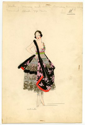 Lucile Ltd. Theatrical Sketch