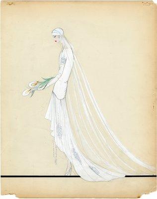 Lucile Fashion Sketch