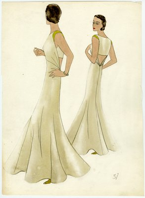 Original Sketch by Muriel King, Summer 1937