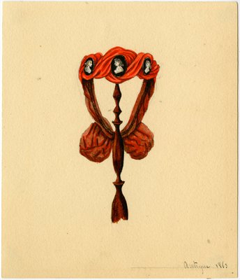 Original Millinery Sketch