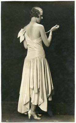 Black and White Fashion Photograph, Spring/Summer 1928
