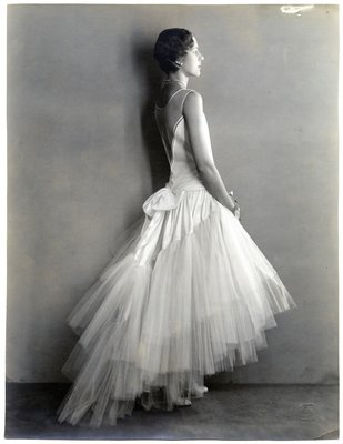 Black and White Fashion Photograph, Spring/Summer 1929
