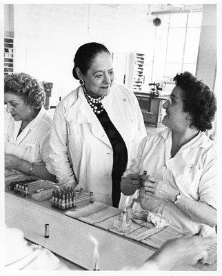 Helena Rubinstein and lipstick molders
