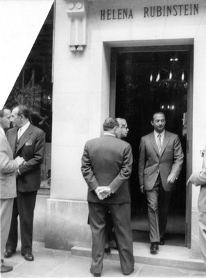 Helena Rubinstein building exterior with Oscar Kolin