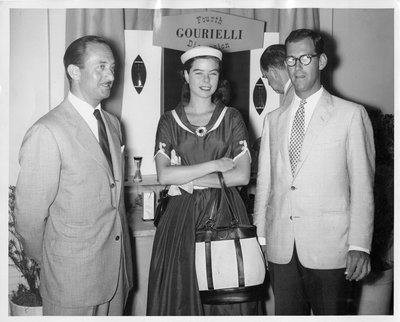 Gourielli Fourth Dimension perfume display in New York