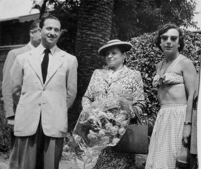 Helena Rubinstein, Oscar Kolin and companion