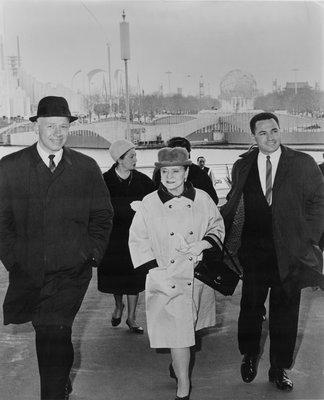 Helena Rubinstein at the 1964 World's Fair