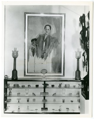 Portrait of Helena Rubinstein by Christian Berard