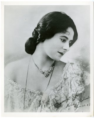 Helena Rubinstein in glamour pose, Melbourne