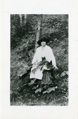 Helena Rubinstein on vacation in Bavaria