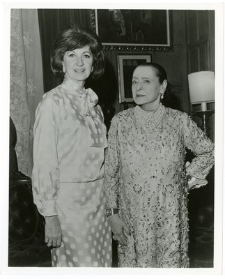 Helena Rubinstein and Maggi McNellis