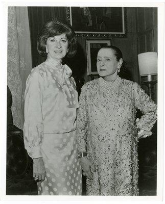 Helena Rubinstein and Maggi McNellis
