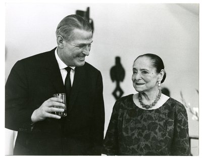 Helena Rubinstein with French perfumer