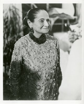 Helena Rubinstein in Yves Saint Laurent