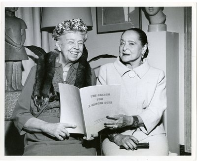 Eleanor Roosevelt and Helena Rubinstein