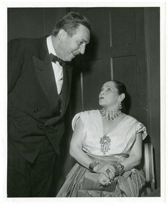Walt Disney and Helena Rubinstein