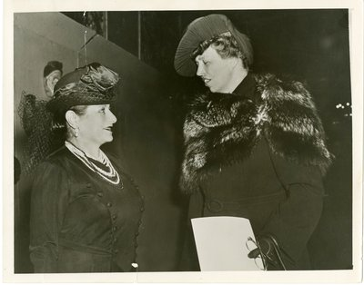 Eleanor Roosevelt and Helena Rubinstein