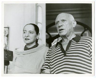 Pablo Picasso and Helena Rubinstein