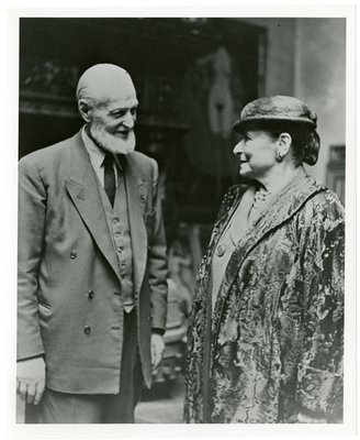 Helena Rubinstein with artist Kees van Dongen