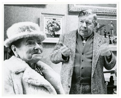 Helena Rubinstein and artist Camille Bombois