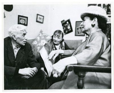 George Braque and Helena Rubinstein