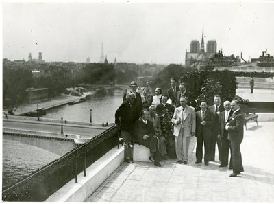 Henri Matisse, George Braque, Fernand Leger, Marcoussis, Maurice Raynal, Paul Eluard at Helena Rubinstein's