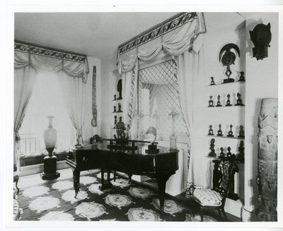 Music Room in Helena Rubinstein's New York apartment