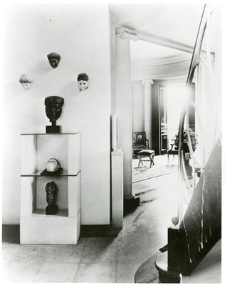 Interior of Helena Rubinstein's New York apartment