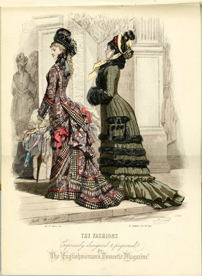 Fashion plate from Englishwoman's Domestic Magazine