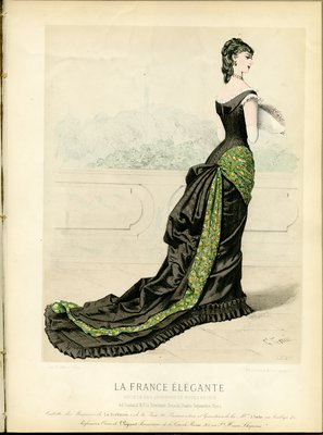 Fashion plate from La France Élégante
