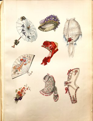 Fashion plate from L'Art et la Mode