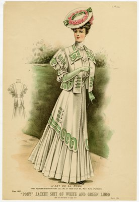 Fashion plate from L'Art de la Mode, March 1906