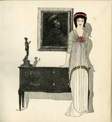 Iribe Illustration from Les Robes de Paul Poiret