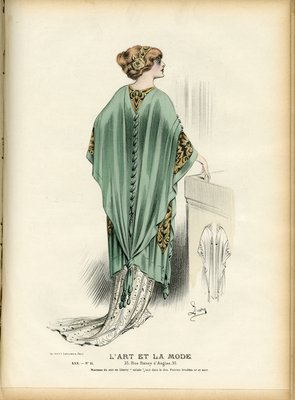 Fashion plate from L'Art et la Mode, 1909