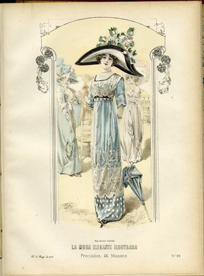 Fashion plate from La Moda Elegante Ilustrada, May 30, 1911