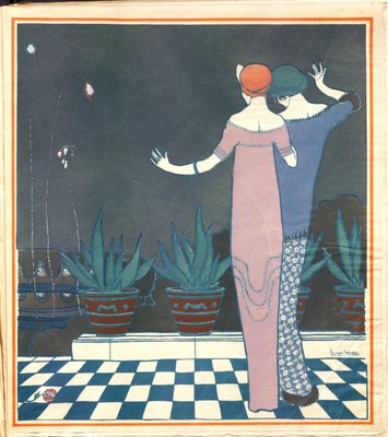 Lepape Illustration from Les Choses de Paul Poiret