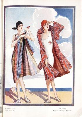 Fashion plate from Les Idées Nouvelles, 1928