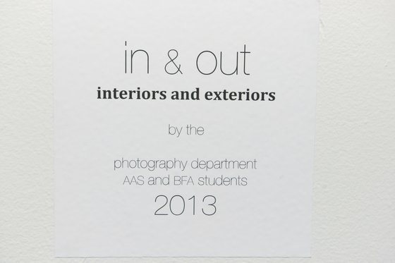 In & Out: Interiors and Exteriors