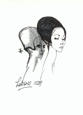 Halston casque with ear flaps