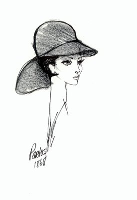 Halston wool hat