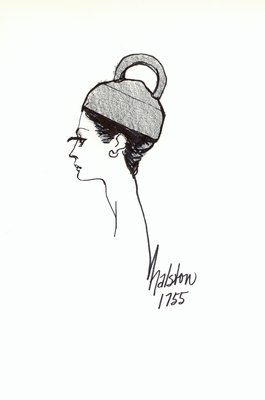 Halston pillbox with loop