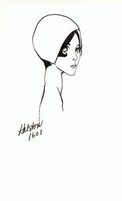 Halston casque
