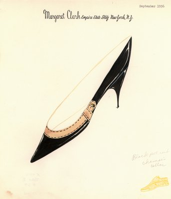 Jerry Miller black patent stiletto pump