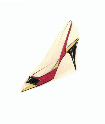 Jerry Miller slingback stiletto pump